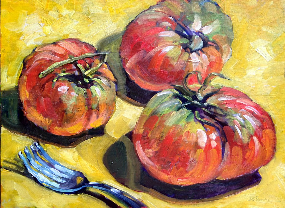 """Heirlooms"" original fine art by Jeanne Bruneau"