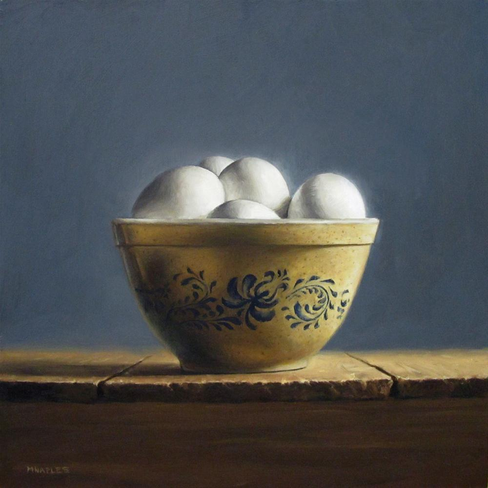 """Illuminated Eggs"" original fine art by Michael Naples"