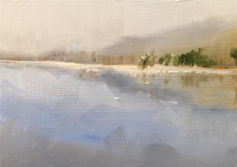 """Stillness"" original fine art by Gary Bruton"