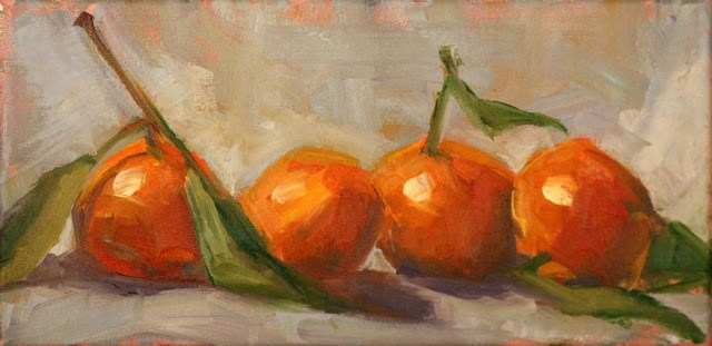 """juicy"" original fine art by Carol Carmichael"