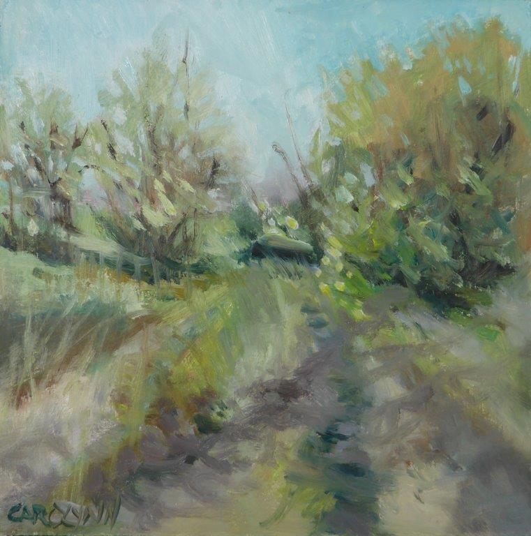 """""""Flats Mud Bay"""" original fine art by Carolynn Doan"""