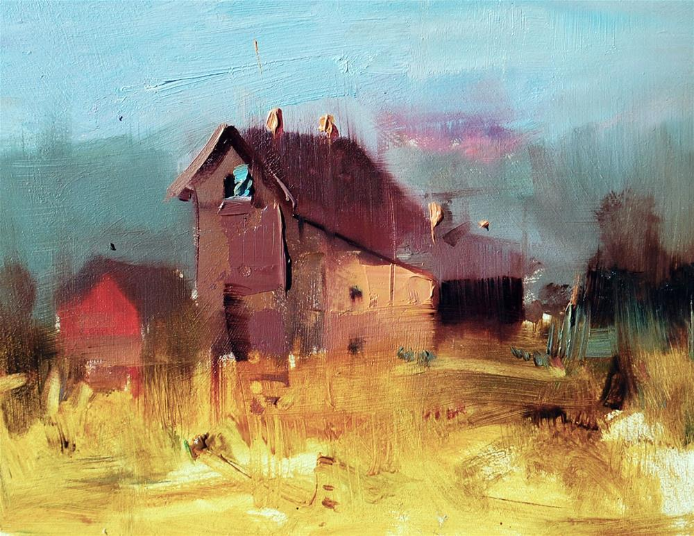 """""""Late Afternoon"""" original fine art by Mahin Gholizadeh"""