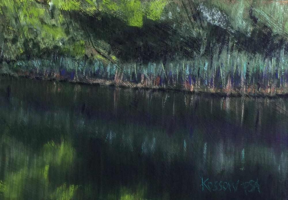 """Sugar Pond"" original fine art by Cristine Kossow"