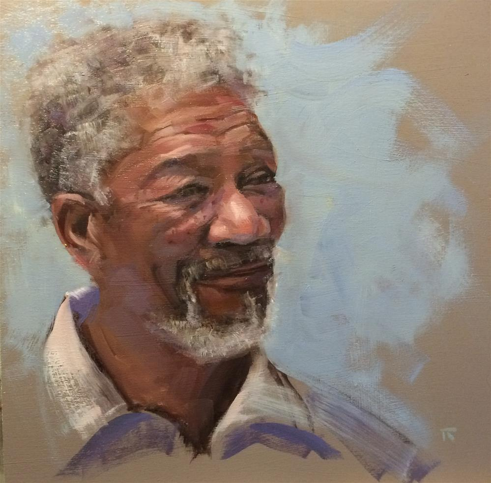 """Freeman"" original fine art by Thomas Ruckstuhl"