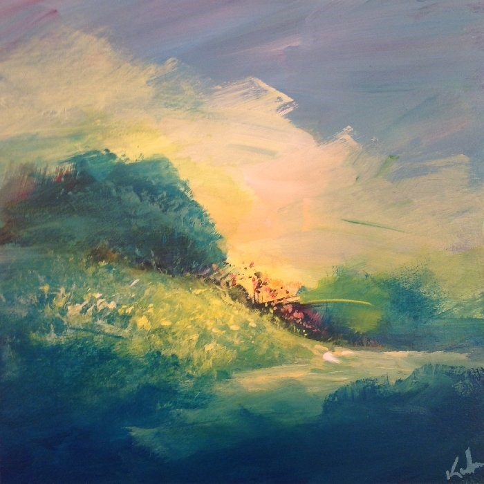 """Moments Now Gone"" original fine art by David Kuhn"