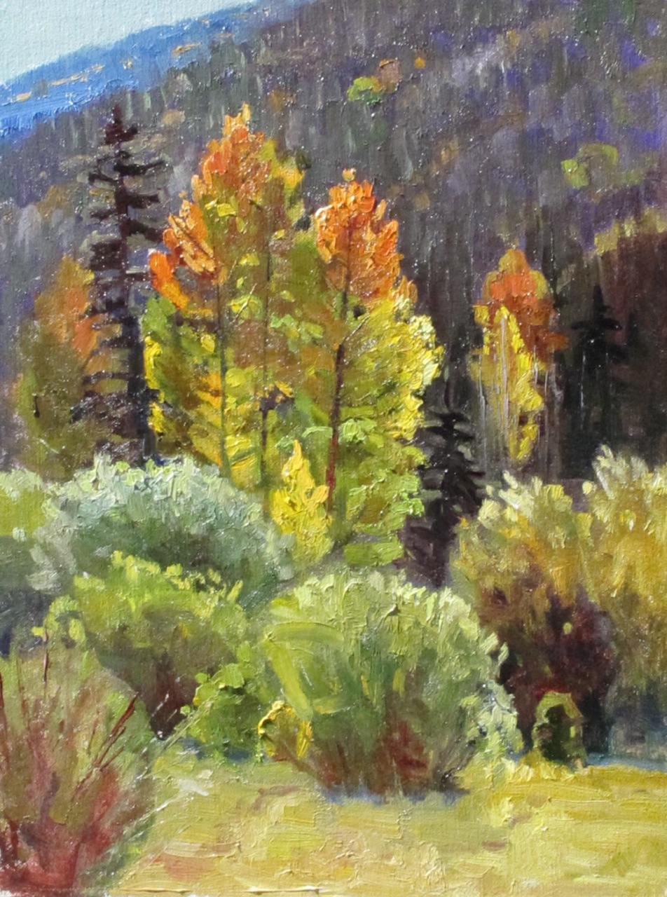 """Fall in La Garita"" original fine art by Susan McCullough"