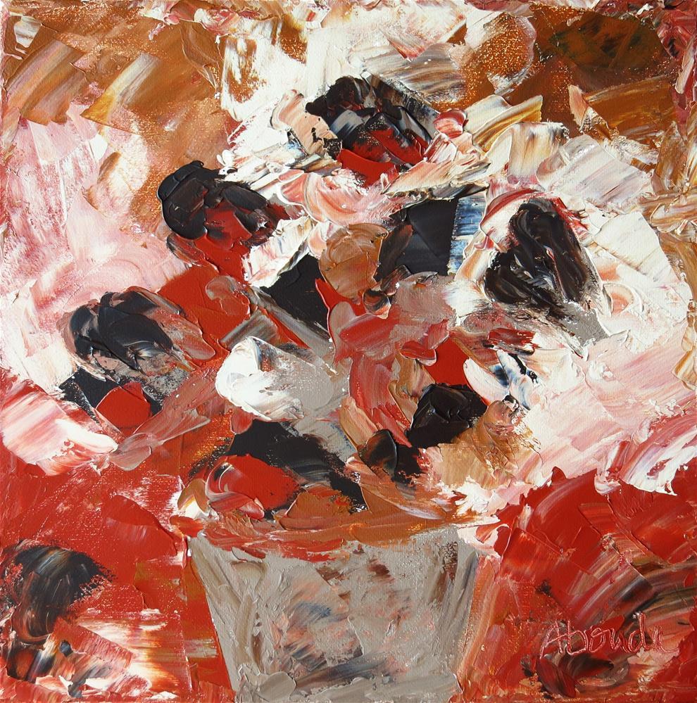 """""""Copper Bouquet"""" original fine art by Sandy Abouda"""