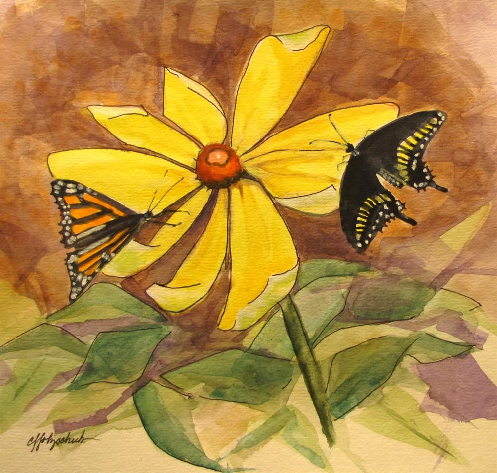 """Monarch #13"" original fine art by Christine Holzschuh"