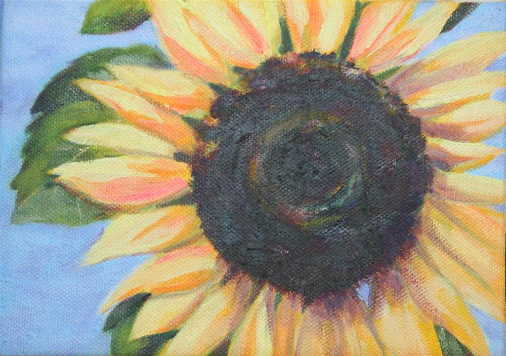 """Sunflowers #1"" original fine art by Karen Gehse"