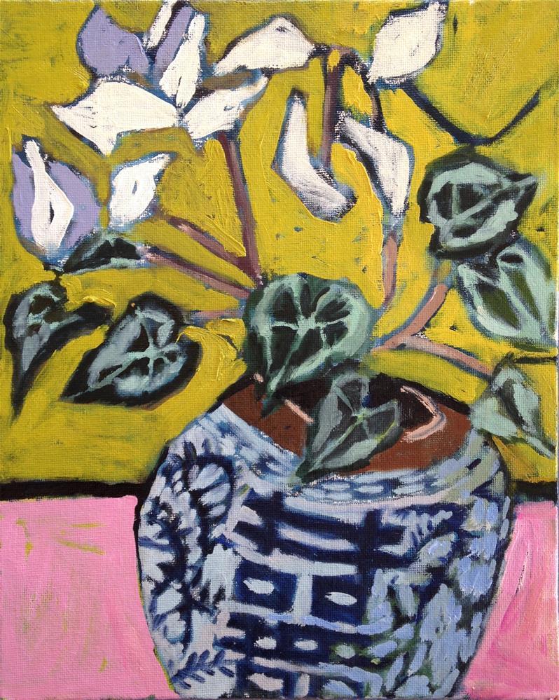 """Isadora Duncan"" original fine art by Pamela Hoffmeister"
