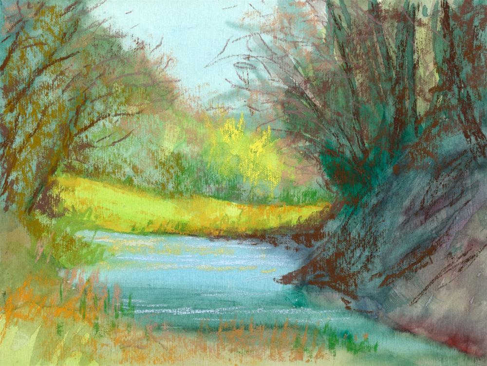 """Still Pond"" original fine art by Rita Kirkman"