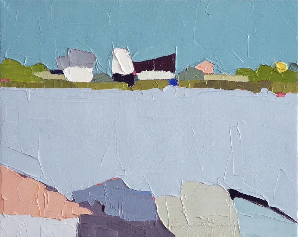 """""""Across the Way II"""" original fine art by Donna Walker"""