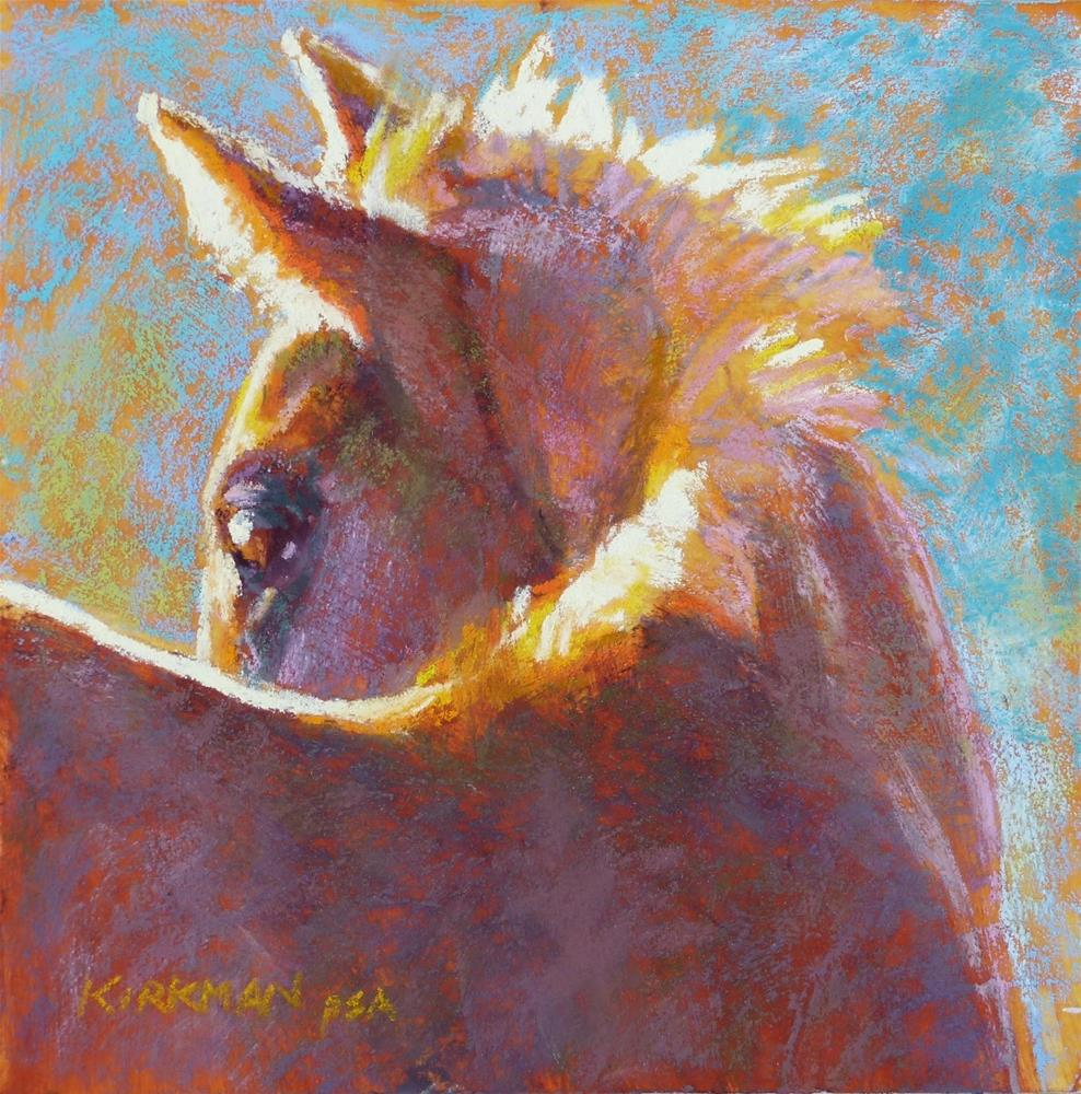 """Carmelita (and the CA Workshop!)"" original fine art by Rita Kirkman"