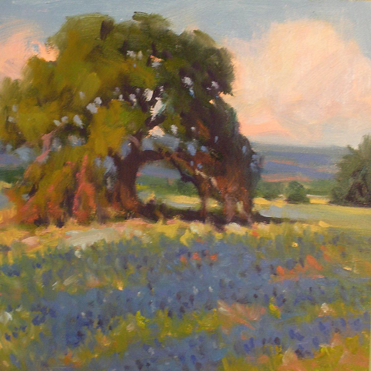 """""""Afternoon Light"""" original fine art by David Forks"""