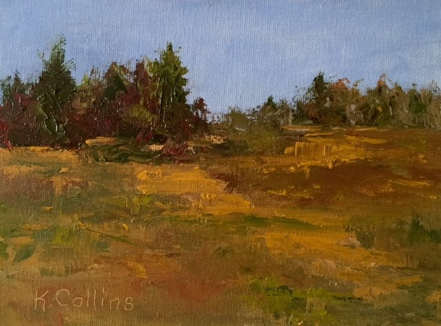"""Autumn in the Sault"" original fine art by Kathy Collins"