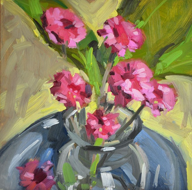 """Blooms"" original fine art by Jessica Green"