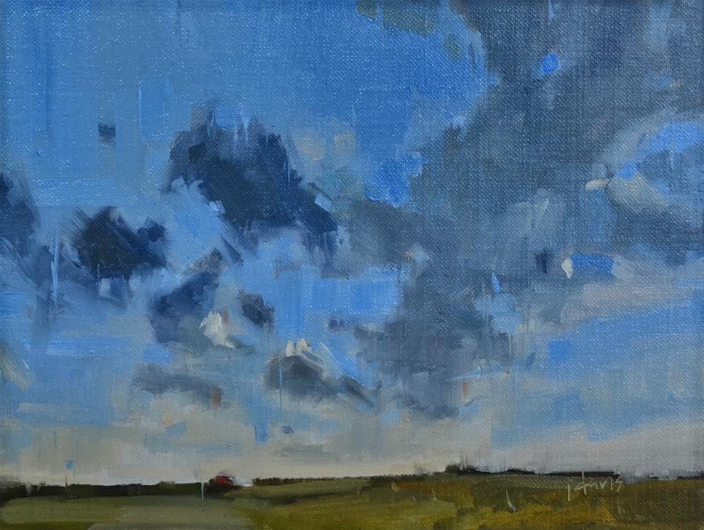 """""""Cloud Study 2"""" original fine art by Julie Davis"""