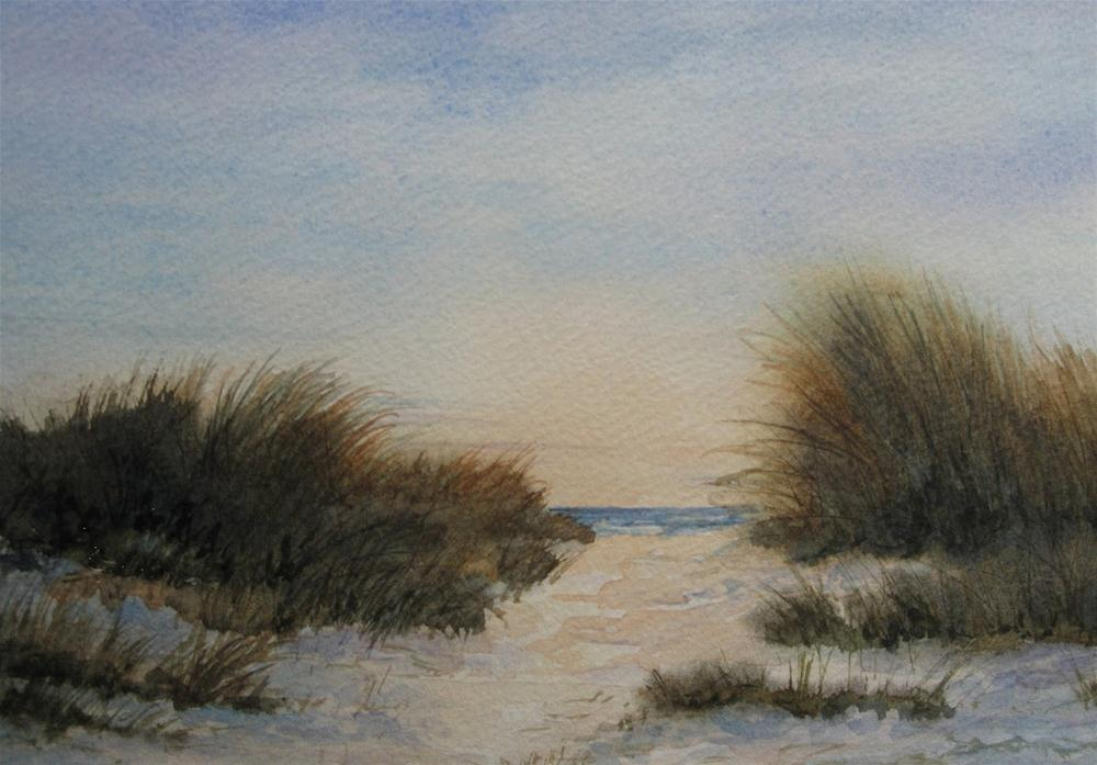 """Quiet Time"" original fine art by Vikki Bouffard"