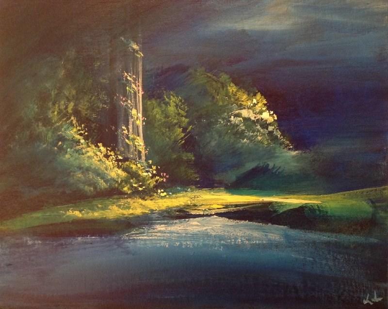 """""""More Unseen"""" original fine art by David Kuhn"""