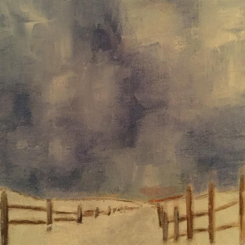 """Sweetbriar Lane"" original fine art by pamela kish"