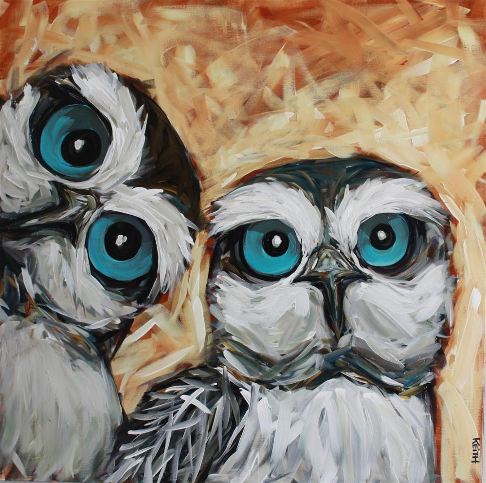"""Mr. & Mrs. Grey"" original fine art by Kandice Keith"
