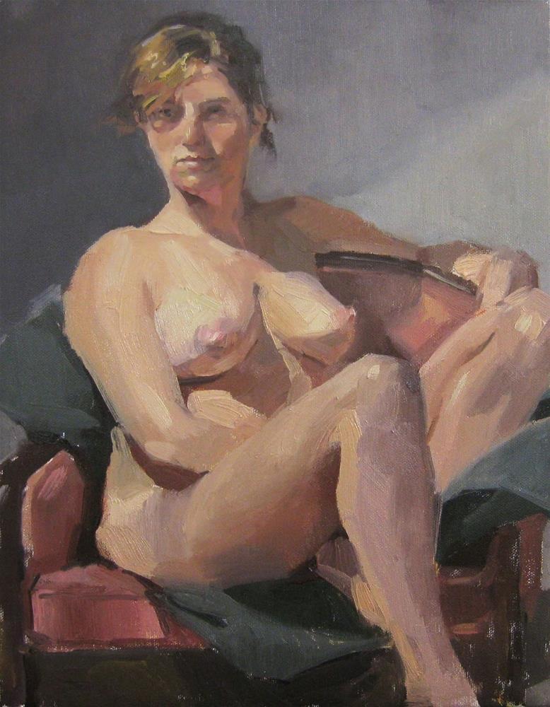 """Maya, Nude"" original fine art by Sarah Sedwick"