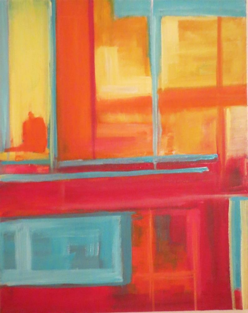 """Windows"" original fine art by Astrid Buchhammer"