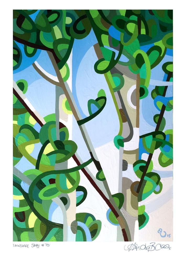 """Landscape Study #75"" original fine art by Mandy Budan"
