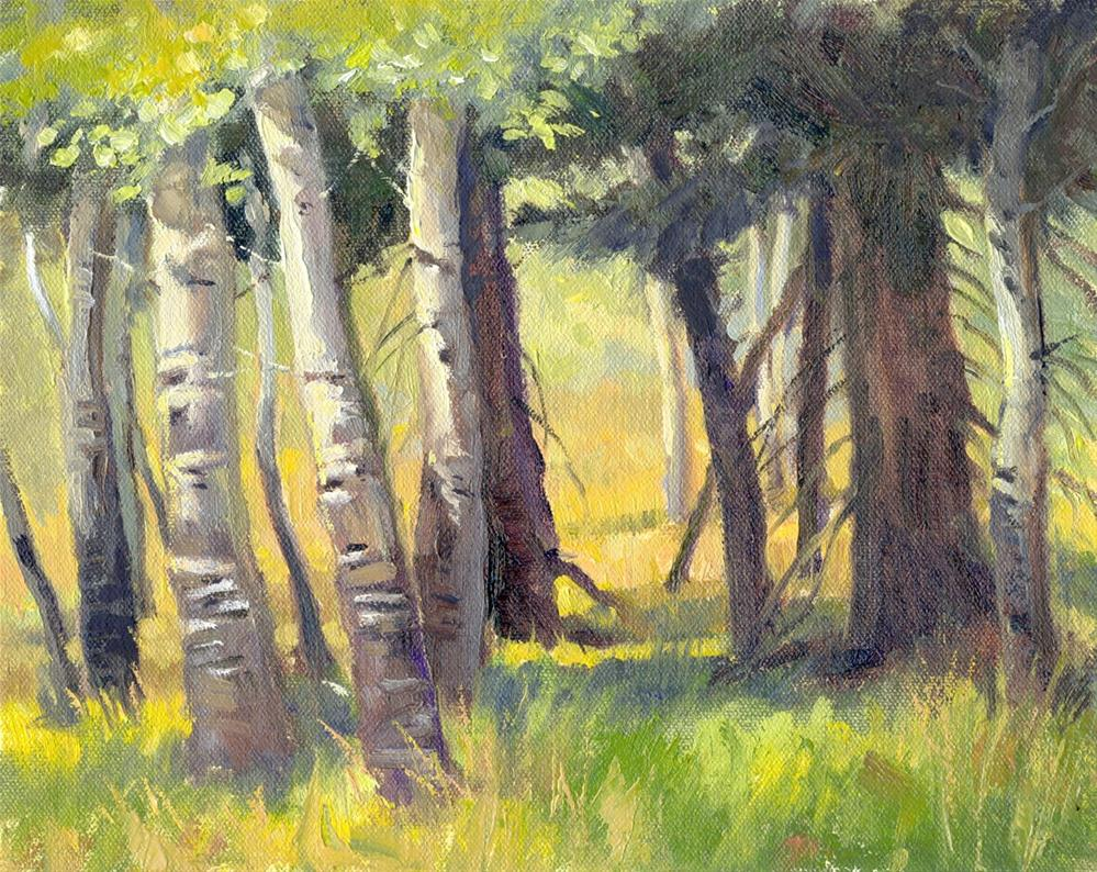 """Path to the Meadow"" original fine art by Kath Reilly"