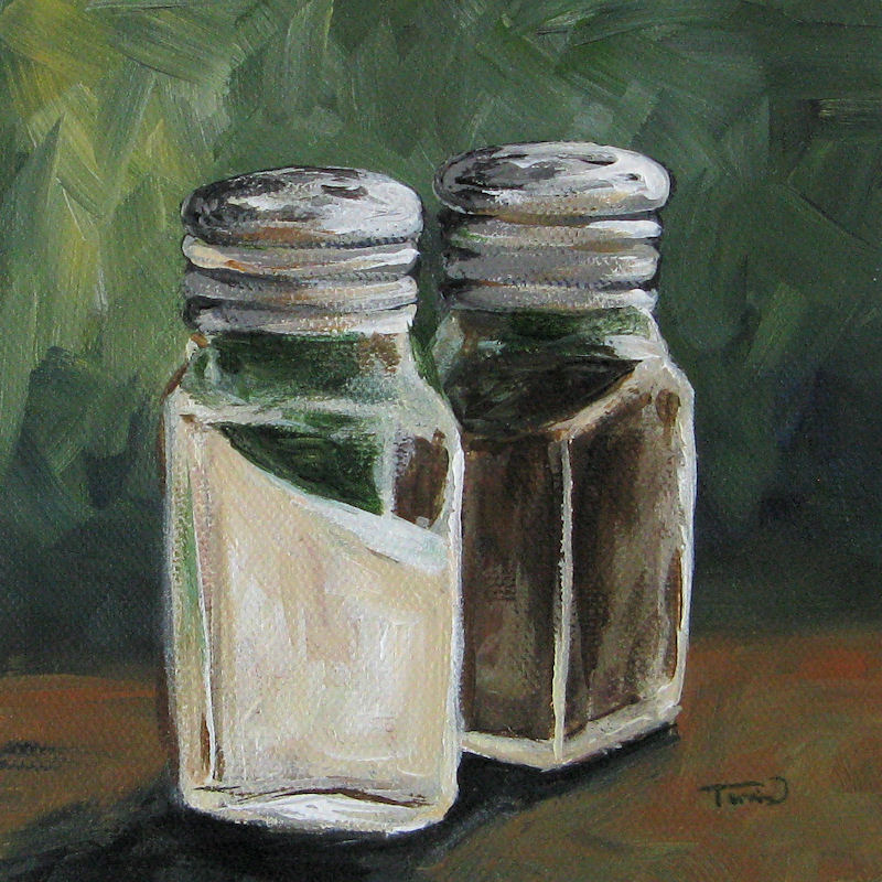 """Salt and Pepper III"" original fine art by Torrie Smiley"