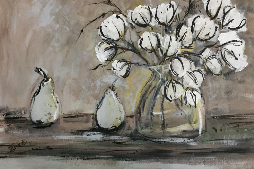 """In the Land of Cotton"" original fine art by Terri Einer"