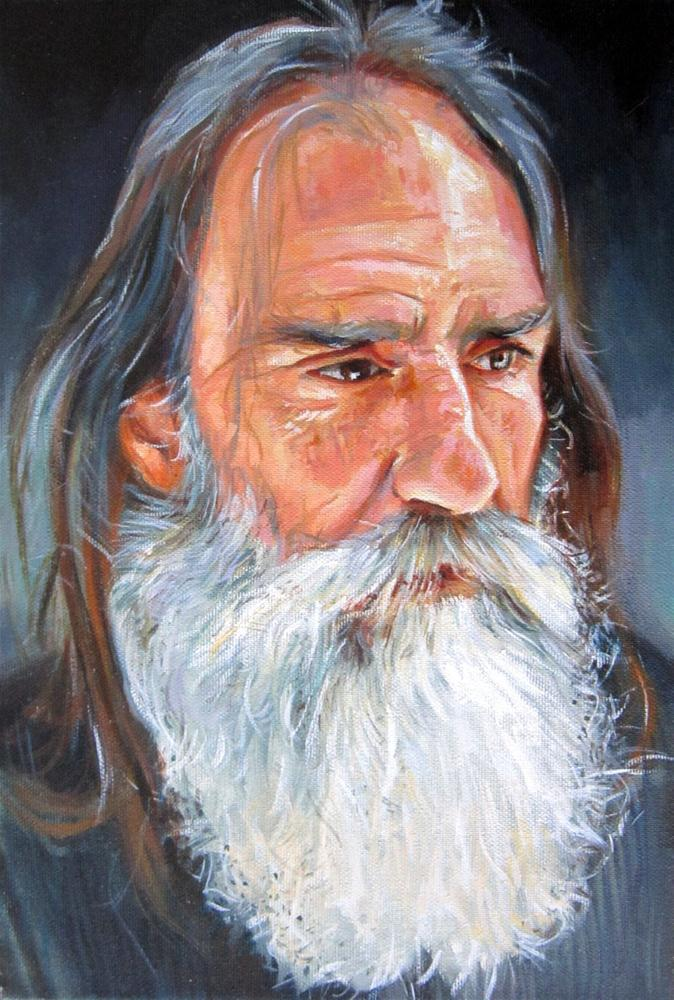 """Homeless"" original fine art by Víctor Tristante"