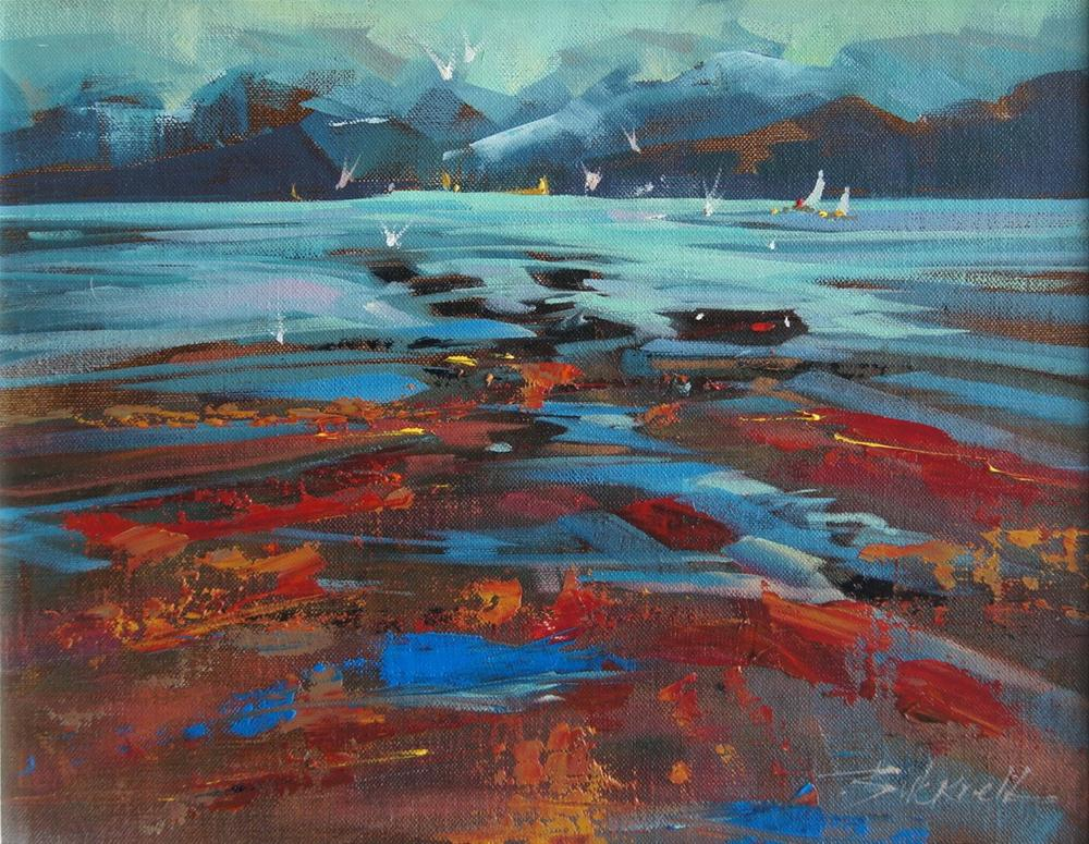 """Low Tide"" original fine art by Brian Buckrell"
