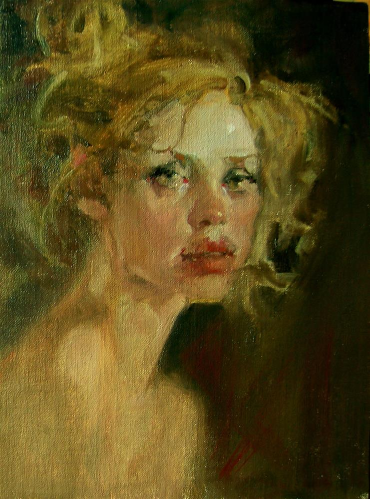 """The Look"" original fine art by Kim Roberti"