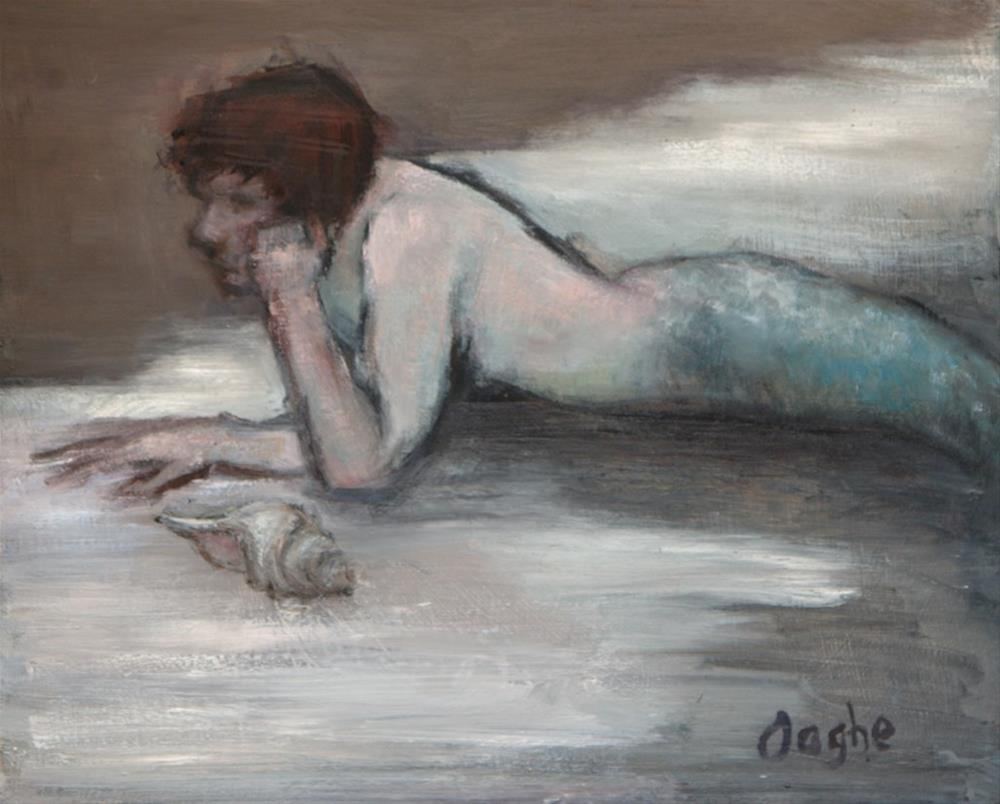 """Young Triton"" original fine art by Angela Ooghe"