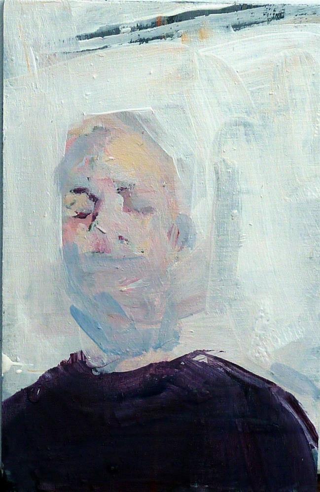 """kleines Portrait / small portrait"" original fine art by Mila Plaickner"