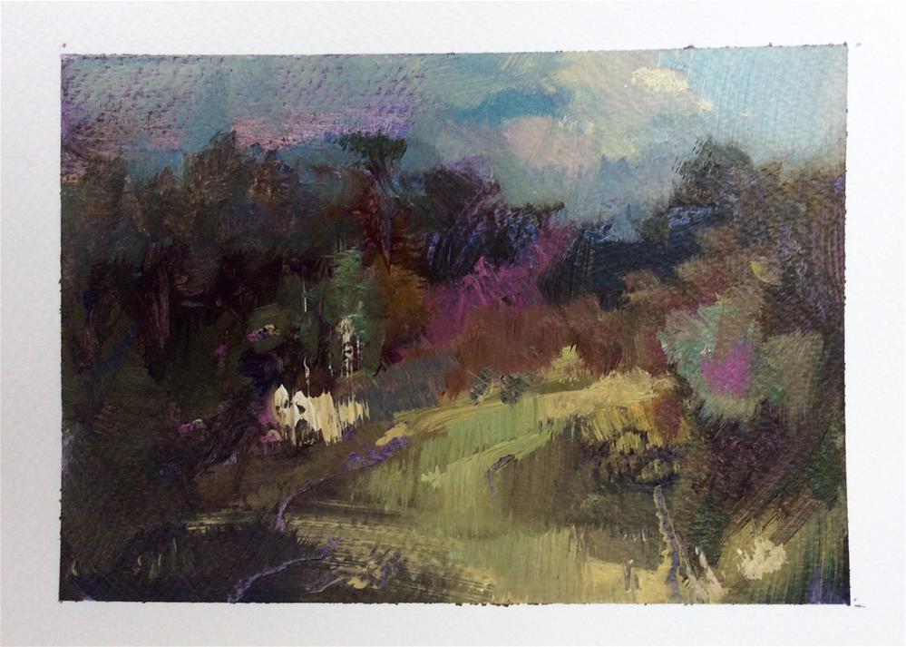 """Morning "" original fine art by Anne Wood"