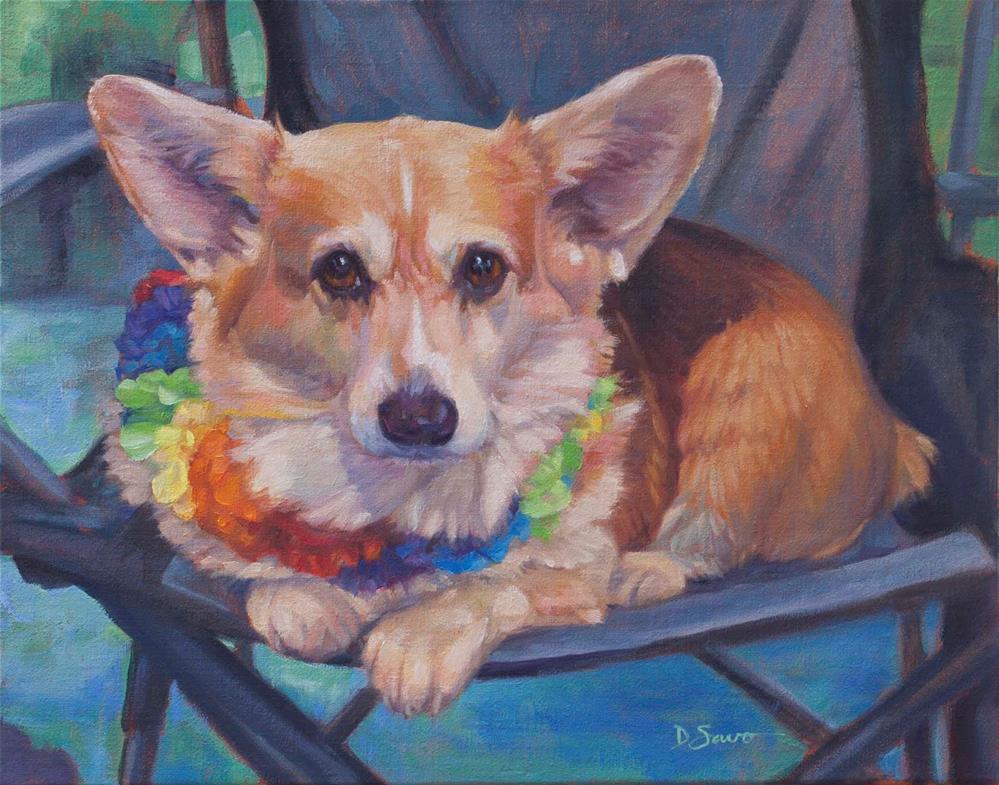 """Patti"" original fine art by Deborah Savo"