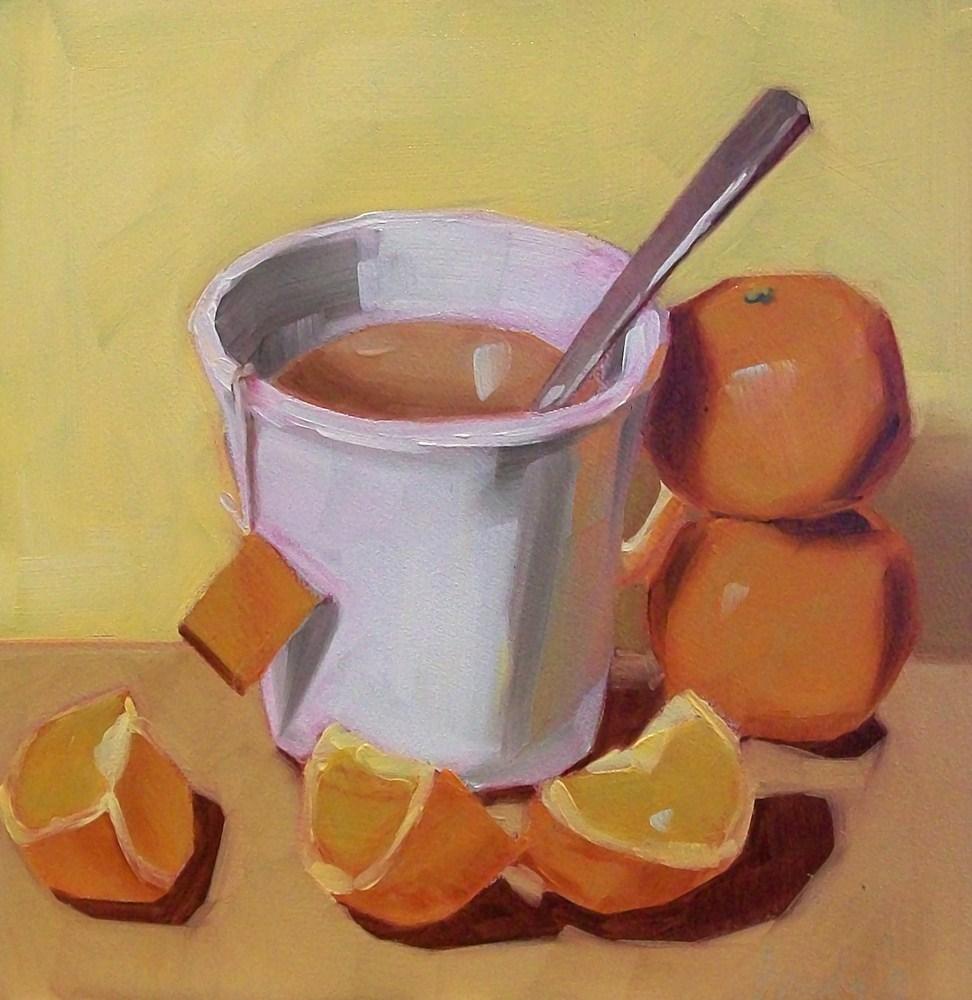 """Sunnyside tea"" original fine art by Brandi Bowman"