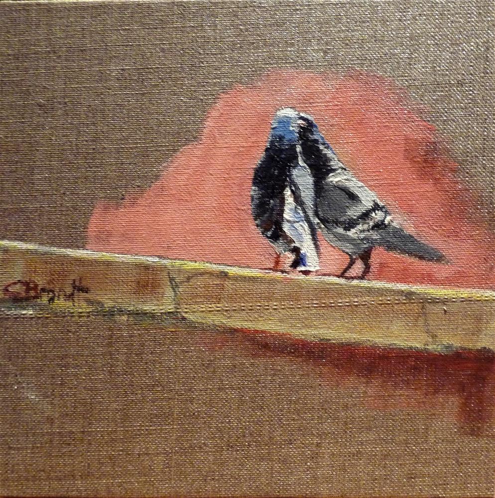 """Lover"" original fine art by Claudia Brandt"