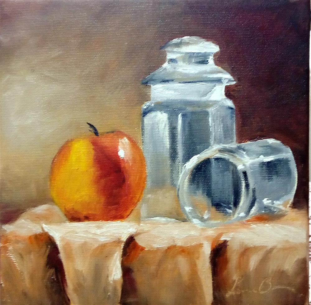 """Still Life With Jars"" original fine art by Laura B."