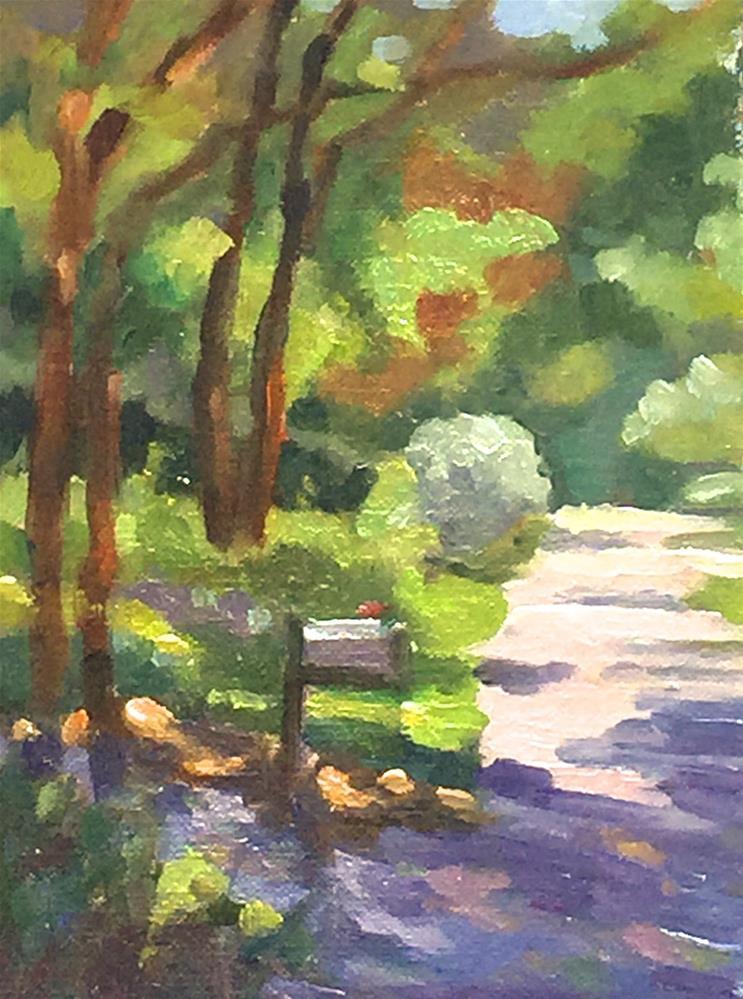 """An Inviting Path"" original fine art by Judy Elias"
