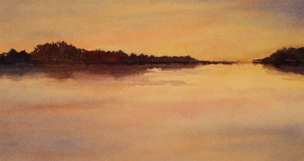 """Evening Glow"" original fine art by Vikki Bouffard"