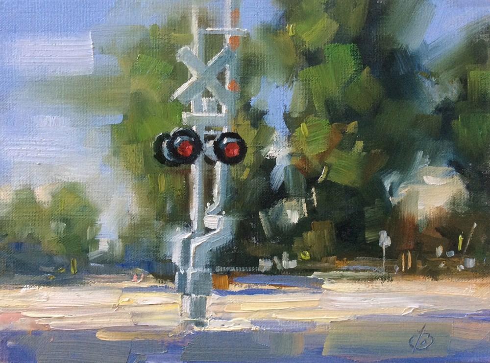 """THE ROAD LESS TAKEN"" original fine art by Tom Brown"
