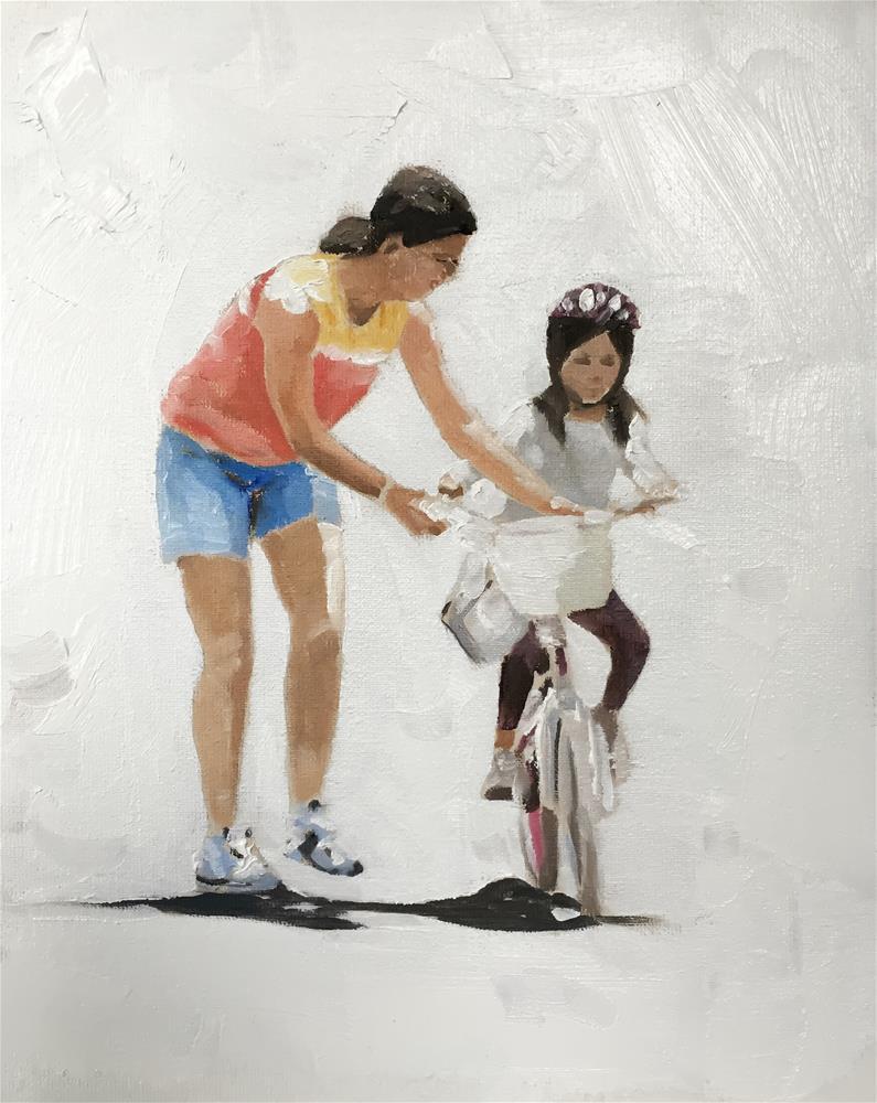 """A Little Help"" original fine art by James Coates"