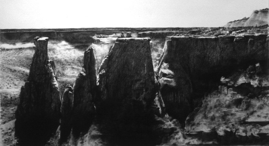 """Colorado National Monument"" original fine art by Joe Fitzgerald"