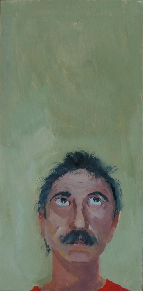 """""""FACE No. 35"""" original fine art by Linda Popple"""