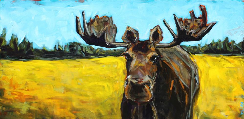 """Morgan"" original fine art by Kandice Keith"