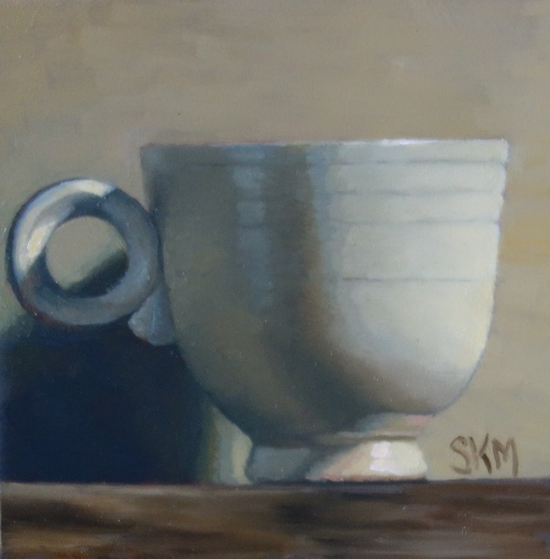 """still life: fiesta ware"" original fine art by Sarah Meredith"