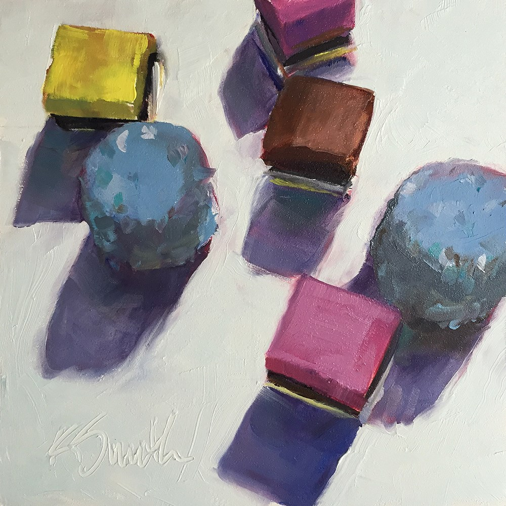 """all sorts"" original fine art by Kim Smith"